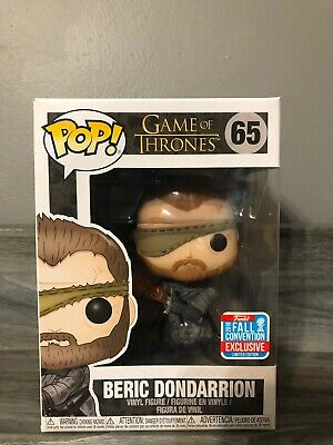 Funko Pop! Beric Dondarrion (Game of Thrones #65) NYCC 2018 Exclusive