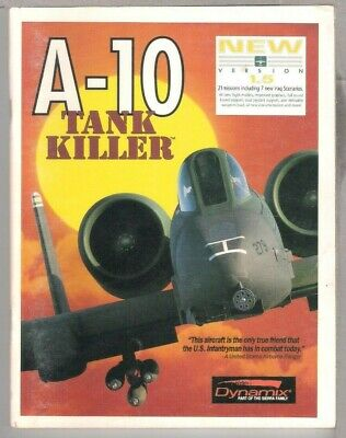 A-10 Tank Killer v1.5 MS DOS 3.5""""