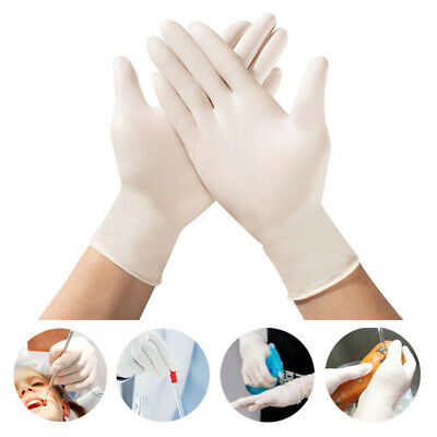 100pcs Disposable Nitrile Gloves Latex Free Powder Free for Home Safe S/M/L