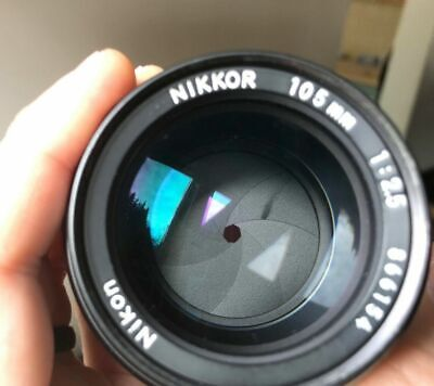 Nikkor 105mm f/2.5 AI lens - Amazing Nikon glass
