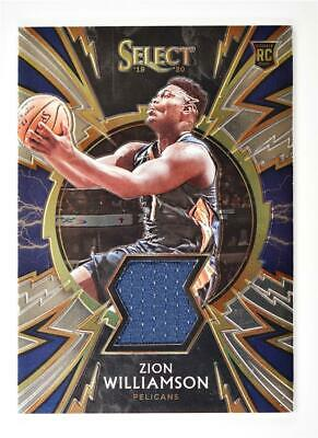 2019-20 Select Sparks Relic #SP-ZWL Zion Williamson