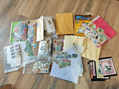 Worldwide - Large glory box of mint & used stamps Free PP