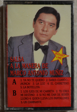 Salsa A La Manera de Marco Antonio Muniz - Cassette New! Sealed! BMG 1989
