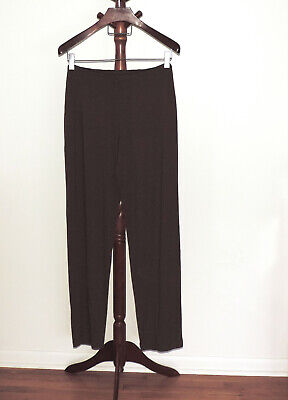 J.Jill Medium Tall Wearever Collection Pull On Stretch Pants Driftwood Brown NWT