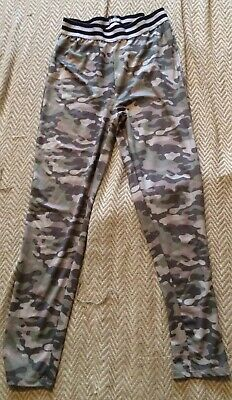 Miss E-Vie Girls Camouflage Leggings Age 14Years
