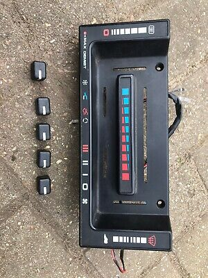 Range Rover Classic Heater Control Panel With Loom