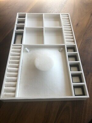 Authentic Pandora Jewelry Store Counter Display Tray 60  spaces Retail Sale USED