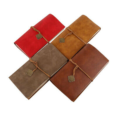 Vintage leather Journal Notebook diary travel