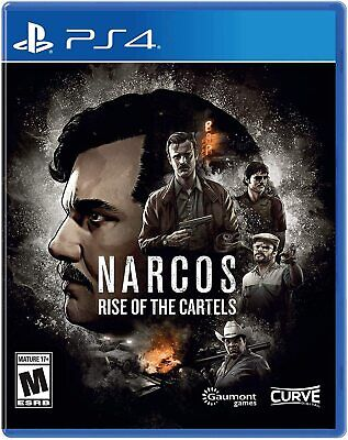 Narcos Rise of the Cartels Playstation 4 - NEW FREE US SHIPPING