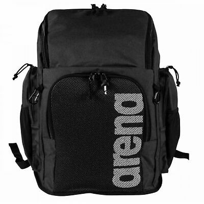 Arena Team Backpack 45 Litre Team Black Swimming Backpack Rucksack