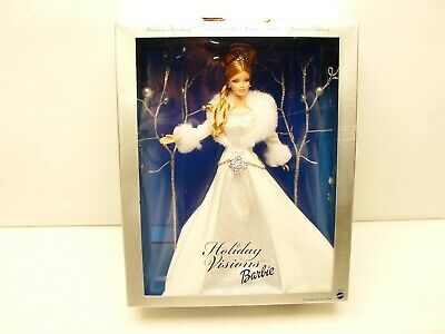 2003 Barbie Holiday Visions Winter Fantasy First Special Edition Mattel