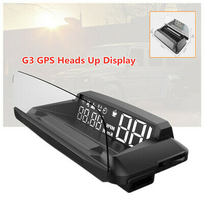 Universal G3 GPS Heads Up Display Car SUV HUD with Reflection screen Part