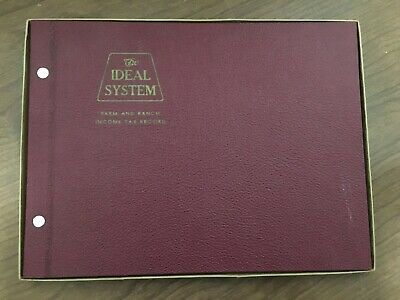 The Ideal System Farm and Ranch Income Tax Record - Blank