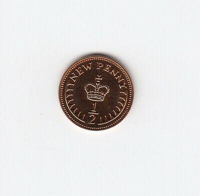 1977 HALF PENNY 1/2p In PROOF Condition Extremely Nice coin   (5063)