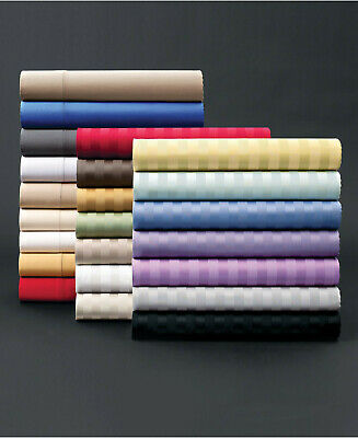 Gorgeous 4 PCs Sheet Set 1000 TC Egyptian Cotton Multi Colors Full XL Size