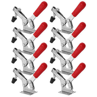 24 Pack 3.12 Inch 201A Horizontal Toggle Clamps 60LB Quick Release Hand Tool