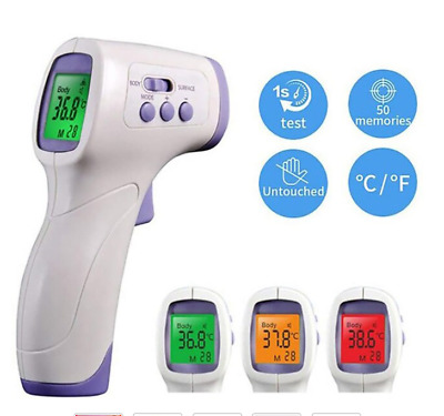 Infrared Body Non Contact Thermometer Gun Meter Adult Baby Medical Digital LCD