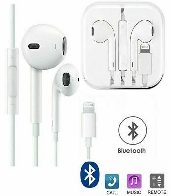 For Apple iPhone XR XS X 8 Plus, 8 7 Plus, 7 Lightning Earphones with mic