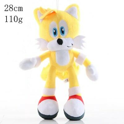 """11"""" Official Sonic The Hedgehog Tails Large Plush Soft Toy Teddy New With Tags"""