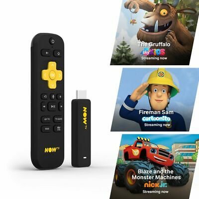NOW TV Smart Stick with 5 Month Kids Pass PRE-INSTALLED