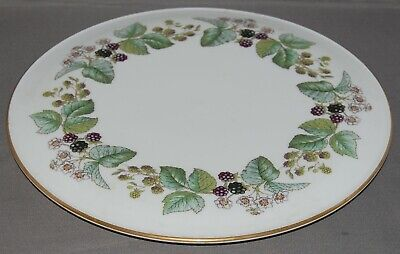 Royal Worcester Lavinia Cake / Gateaux Plate / Stand