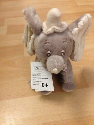 Disney Posh Paws Dumbo Elephant Plush Soft Toy Baby comforter New With Tag