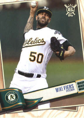 2019 Topps Big League #330 Mike Fiers Oakland Athletics