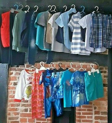 Boys Clothes Bundle Age 6-7 Years. Little bit of everything Jeans shirts shorts
