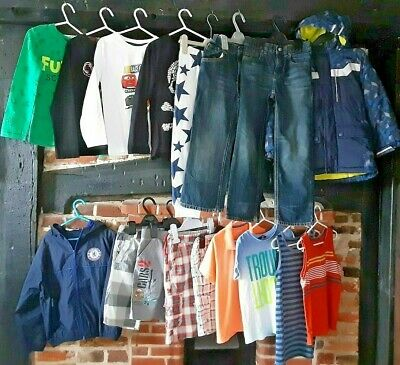 "Boys Clothes Bundle Age 5-6 Years ""little bit of everything"" Ralph ,Next & more"