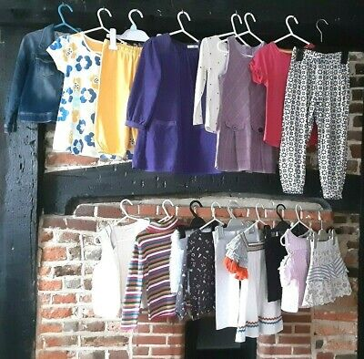 Girls clothes bundle age 3-4 years mix & match Kite M&S Joules & more