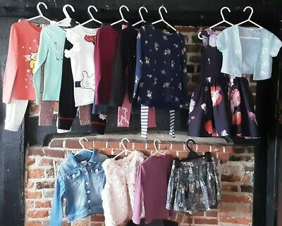 """Girls Clothes Bundle Age 5-6 Years """" Little bit of this & that Casual & playdays"""