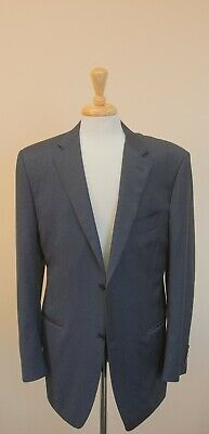 Canali - Navy Blue 120's Wool Sport Coat - 46L - Italy