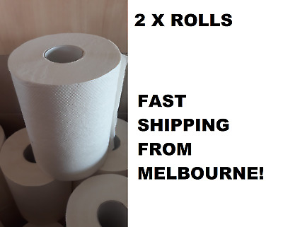 2x Pack Hand Paper Towels Towel Rolls Roll Home Kitchen Industrial Fast Shipping