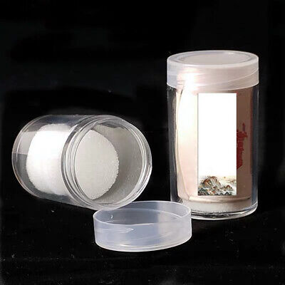 Transparent Coin Storage Box Commemorative Tube Lock Protection Storage 30mm