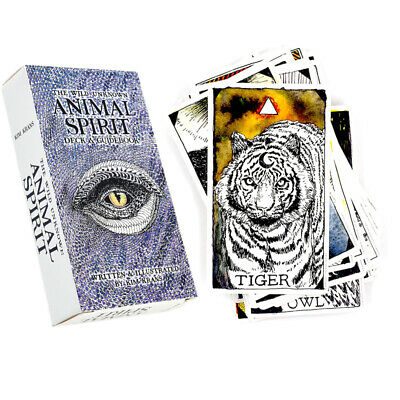 The Wild Unknown Animal Spirit Deck 63Pcs full-colour Tarot Cards And Guidebook