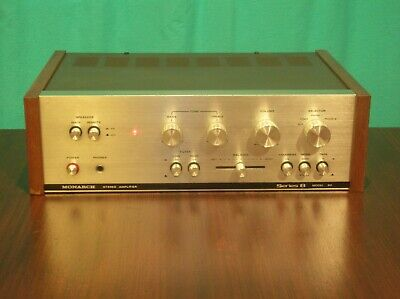 Monarch Series 8 Model 80, stereo integrated amplifier with bonus