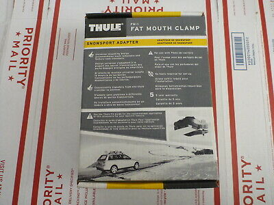 Thule Car Truck  Canoe Ski Rack System Load Carriers TH053 Chevrolet NOS