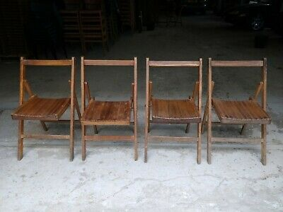 Vintage WD Folding Chairs - Weddings Cafe Bar Restaurant - 30 Available