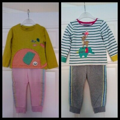 Baby Girls Outfits Bundle Next Tops And F&F Jogging bottoms 18-24 Months