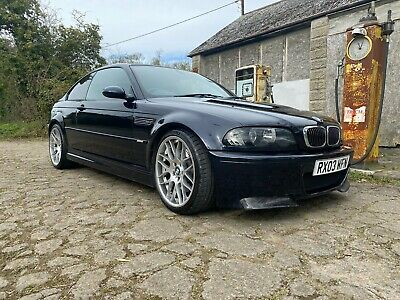 2003 BMW M3 E46 Coupe SMG 2 Door Carbon Black Leather