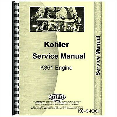 Kohler K361 Engine Service Repair Manual