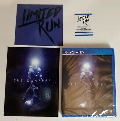 Swapper Limited Run #39 BRAND NEW WITH EXTRAS Region Free PlayStation PS Vita