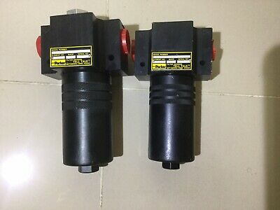 2 Unit Parker Tell Tale Hydraulic Filter