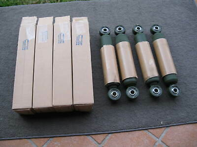 Set of 4 General Kinetics Canada Ex-Army trailer truck shock absorber shocks
