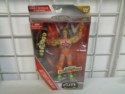 Mattel Wwf Wwe Elite Flashback Ultimate Warrior Figure New