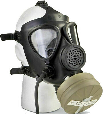Israeli Military Surplus Gas Mask with Filter, New