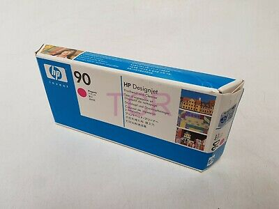 HP 90 C5056A Magenta Printhead and Printhead Cleaner *Date 2017*