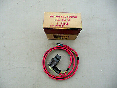 1956 Ford NOS power window switch right rear Convertible Victoria Crown FoMo
