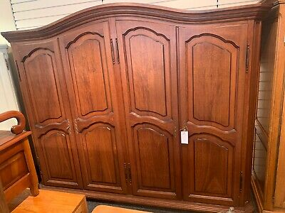 Large French 4 Door Wardrobe