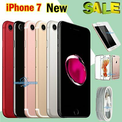 NEW Apple iPhone 7 32GB 128GB 256GB Factory Unlocked Mobile Smartphone 1Yr Wty